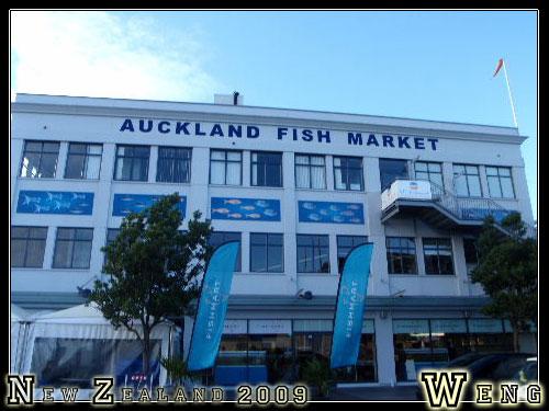 Auckland, Fish Market