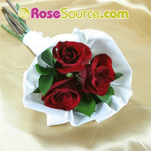Red roses Petite Hand Tied