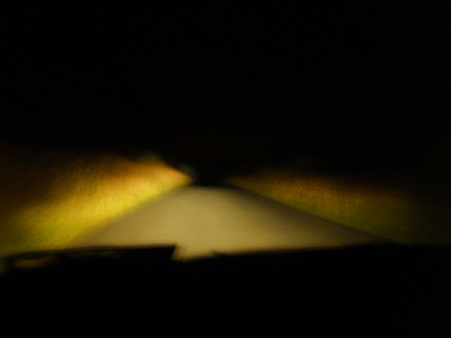 Mountain road in the dark.. Dreamy!