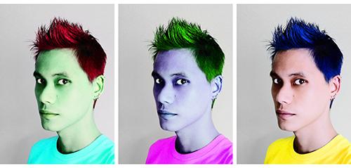RGB/CMYK ego trip(tych)