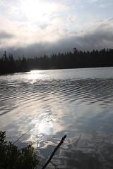 Rabbit Blanket Lake ,early morning (Steve A Leslie) Tags: camping ontario canada lakesuperior lakesuperiorprovincialpark stevenleslie provincialparks steveleslie rabbitblanketlakeprovincialpark stevealeslie
