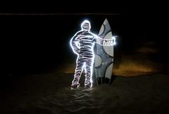 I would go. (JAHook Photo) Tags: beach sand surfing surfboard pipeline longexposurelightpaintingstrobeledflashlightnightbulbnikond200