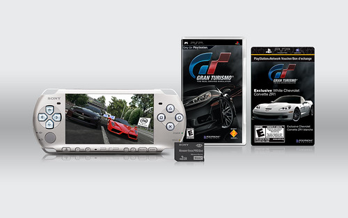 Limited Edition Gran Turismo PSP Entertainment Pack