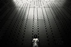 Das Leben ein Kampf (zeissizm) Tags: bw monochrome wall museum canon eos tokyo ef1635mmf28lusm possibility 1635mm 5dmarkii 5dmark2 kuragemochi