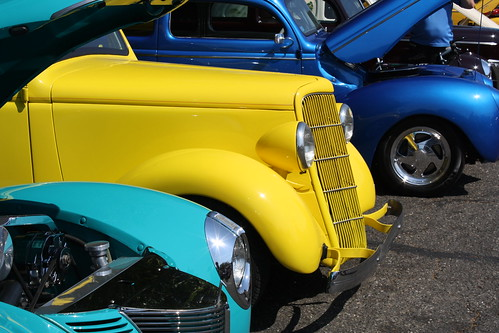 colourful cars