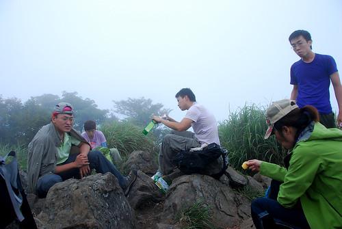 加里山山頂