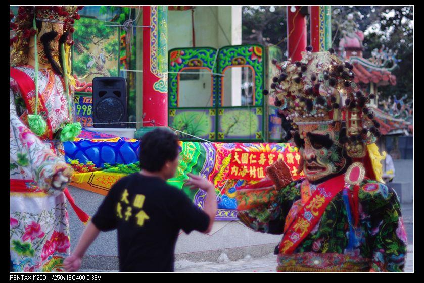 中元廟會-Ricoh Rikenon XR 55/1.2