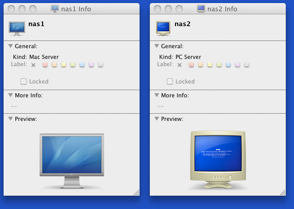 Old news 2008 2009 09 05 mac os x icons for mac v pc servers fandeluxe Choice Image