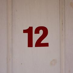 beach hut number 12