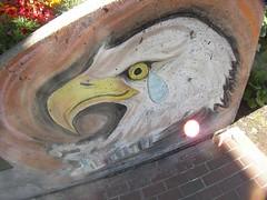 Brian's 9-11 Crying Eagle