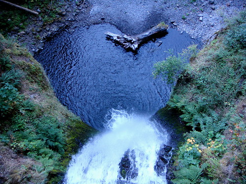 Multnomah Falls Heart
