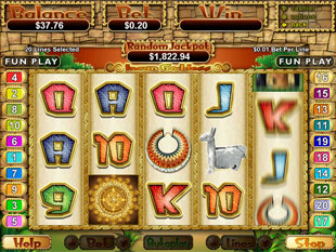 Incan Goddess slot game online review