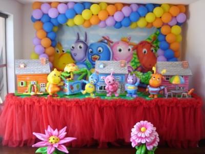 festa infantil - decorar
