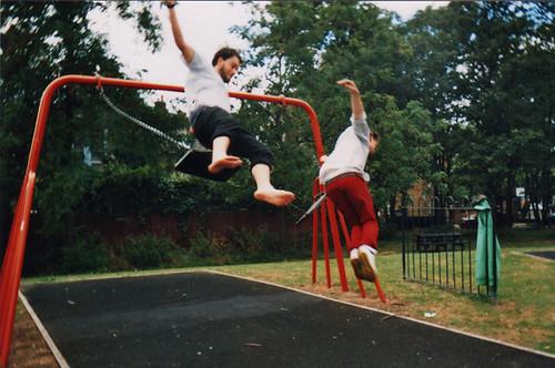 swing dismount