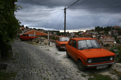 Zastava oranges à Orhid