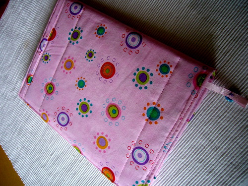 quilted diary wrap.
