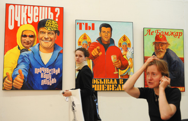RUSSIA-ART-FAIR