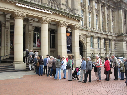 Great Interest in the Staffordshire Hoard Artefacts on Display at Birmingham Museum & Art Gallery