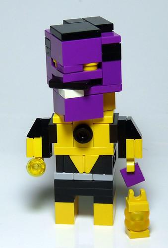 Sinestro CubeDude v2