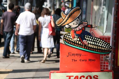 Jimmy the corn man