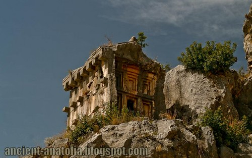 Lycian Tomb at Myra