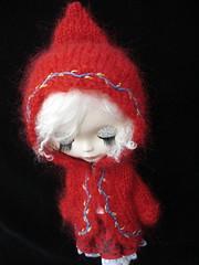 Red Winter Warmer Anorak