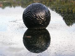 2007-12-23-Stoneleigh-2007-20-06-Pearliculture (russellstreet) Tags: newzealand sculpture auckland nzl manukau aucklandbotanicalgardens sculpturesinthegarden2007 stoneleighsculpturesinthegarden2007 johnioane pearliculture