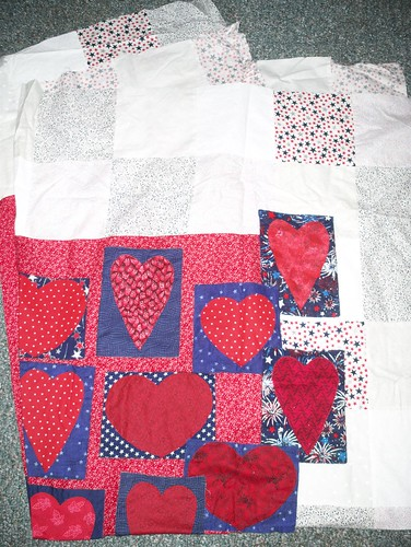 Hearts Quilt by you.