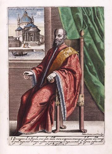 010- El procurador de San Marcos de Venecia-Habiti d'hvomeni et donne venetiane 1609