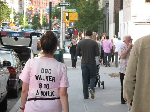 Dog Walker a New York