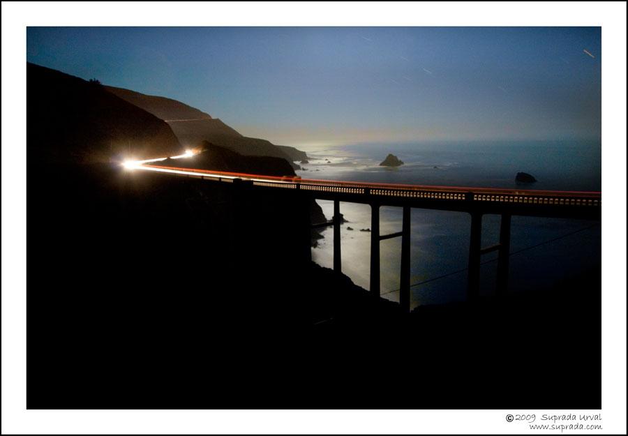 Ocean and Bixby Bridge
