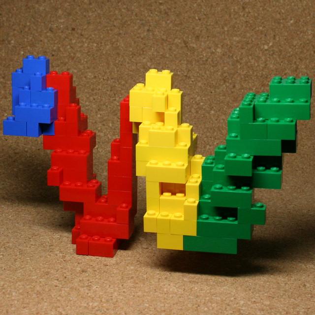 Google Wave Logo (LEGO)