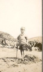 Only Boy Y (ART NAHPRO) Tags: 1920s boy sea england vintage found seaside kid album side photograph only