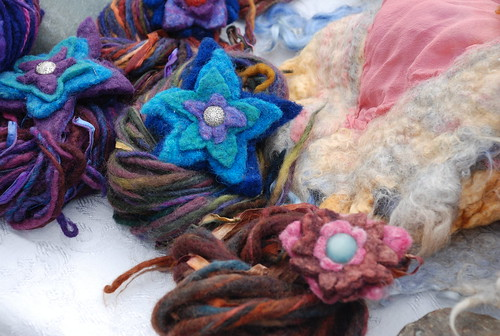 wool at the Camden Farmers' Market