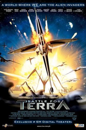 Battle ForTerra Movie Poster