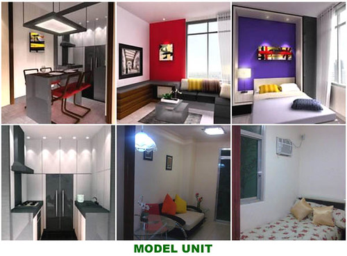 mandaluyong condominium no downpayment model-unit
