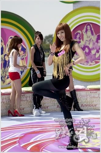 Hyun Ah modeling @ MBC Sweet Girl