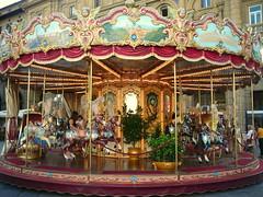 carosello (wrrroah) Tags: italy florence holidays vivid firenze colourful merrygoround lumixtz1 colourartaward colorsinourworld