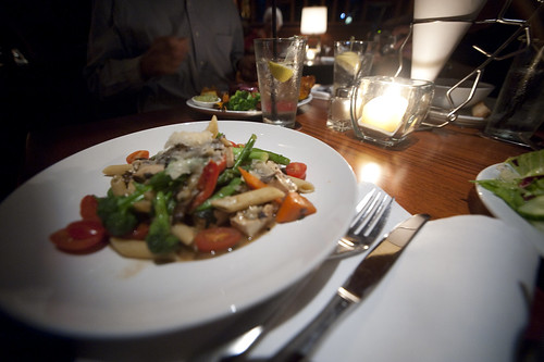 Shrimp Pasta without the Tofu