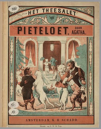 Het theesalet van Pieteloet by Agatha, 1860