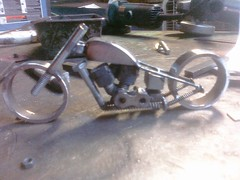 More softail progress...