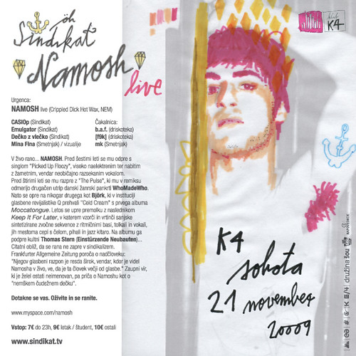 Sindikat präsentiert NAMOSH live (flyer, back)