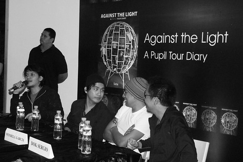 Pupil at Against the Light Book Launch