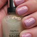 Sally Hansen - Hidden Treasure over OPI Lucky Lucky Lavender