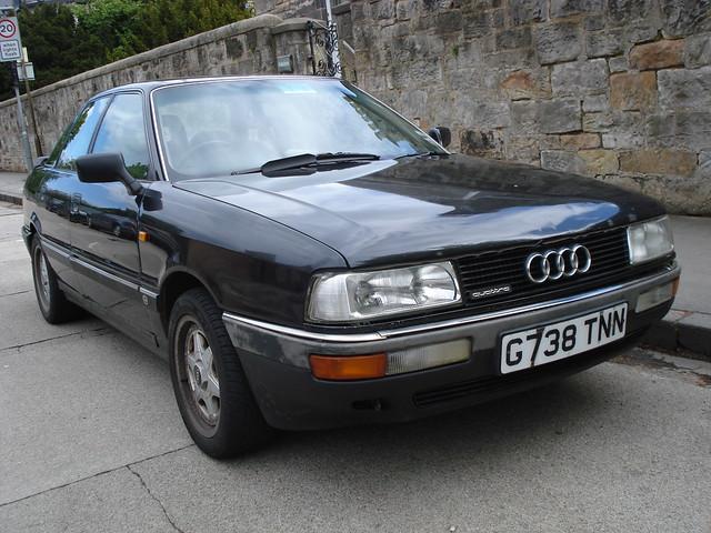 audi 1980s 90 1990 quattro g738tnn