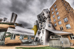 M.I.T. Stata Center (Frank C. Grace (Trig Photography)) Tags: cambridge building architecture ma pentax mit massachusetts newengland architect 20 frankgehry statacenter hdr k5 kendallsquare massachusettsinstituteoftechnology dtower tonemapped vassarstreet gtower trigphotography frankcgrace