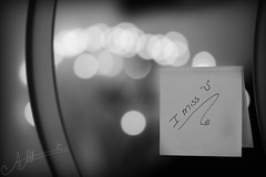 "I Miss ""U"" ,, (A.A.A) Tags: white black love by canon photography mark iii u aaa amna fedait irresistible eos1ds abdulaziz althani missu2 canoneos1dsmarkiii"