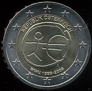 2 Euro Rakúsko 2009 - 10. výročie HMÚ