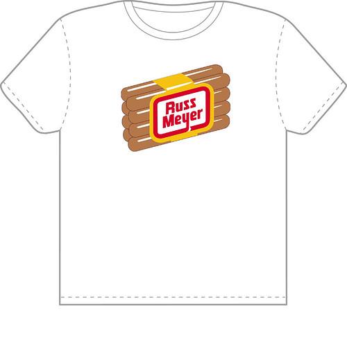 russ meyer hotdog shirt