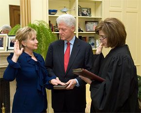 Hillary Clinton Sworn In
